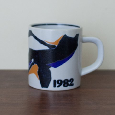 ROYAL COPENHAGE 1982 YEAR MUG