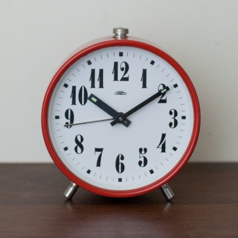 GERMANY? PRIME RED ALARM CLOCK