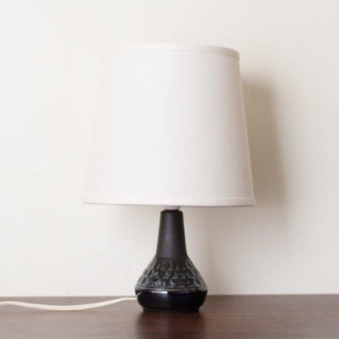 SOHOLM DENMARK NAVY BLUE CERAMIC TABLE LAMP