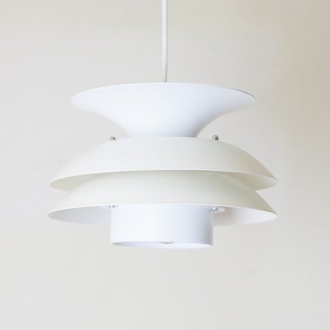 DENMARK MILKY WHITE 4 SHADE LAMP
