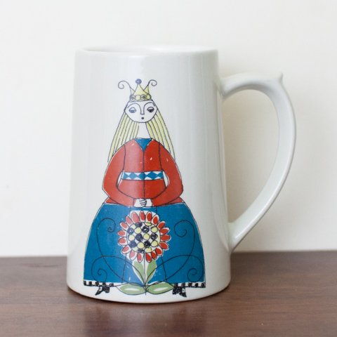 NORWAY FIJJO SAGA BEER MUG