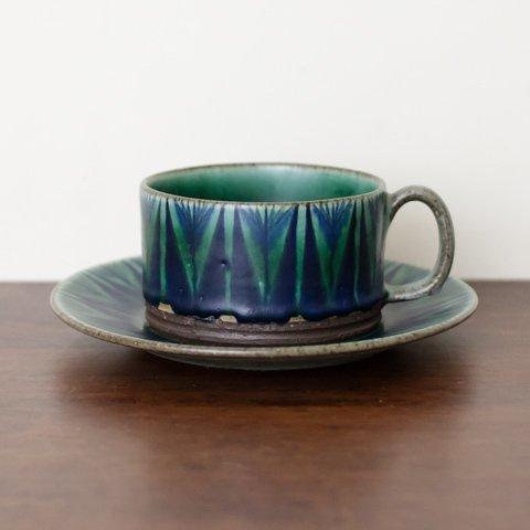 DENMARK THOMAS TOFT STUDIO TUNDRA COFFEE CUP&SAUCER(B)
