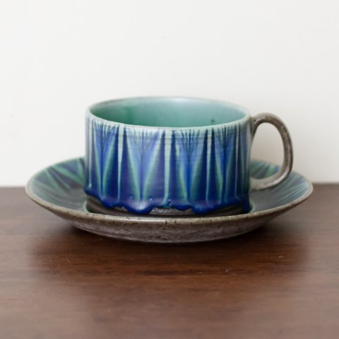 DENMARK THOMAS TOFT STUDIO TUNDRA COFFEE CUP&SAUCER(D)