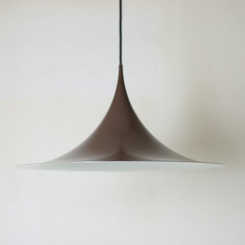 DENMARK FOG&MORUP BROWN SEMI PENDANT LAMP DIAMETER47CM