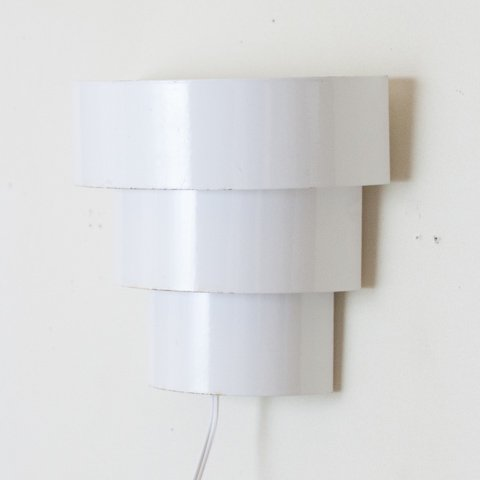 DENMARK WHITE ENAMEL WALL LAMP