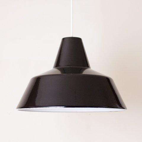 DENMARK LOUIS POULSEN BLACK ENAMEL LAMP