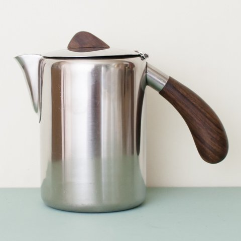 DENMARK LUNDTOFTE ROSEWOOD HANDLE TEA POT