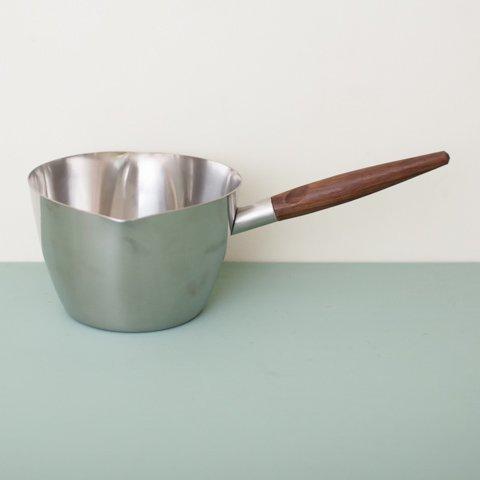 DENMARK STELTON STAINLESS/ROSEWOOD HANDLE SAUCE PAN