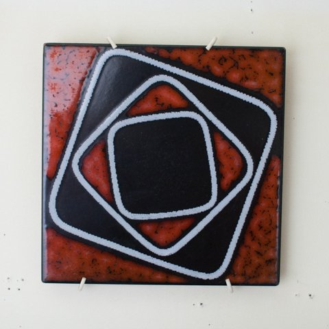 ABSTRUCT ART ITAY TILE FROM DENMARK(B)