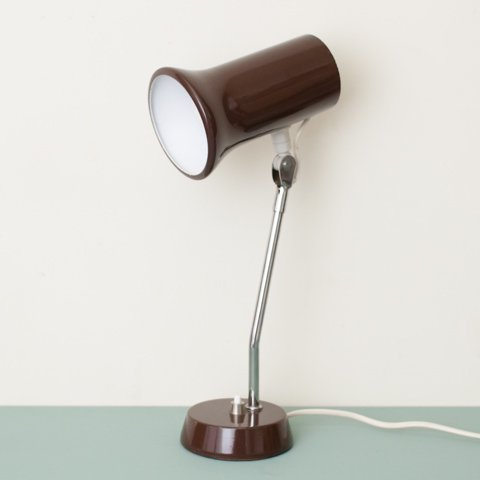 DENMARK DK.BROWN DESK LAMP