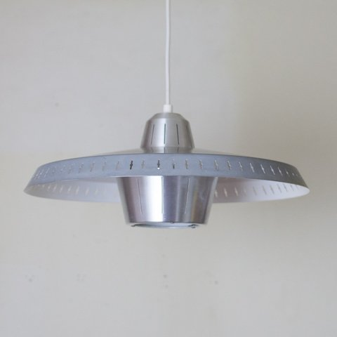 DENMARK GRAY COLOR SHADE ALUMINUM PENDANT LAMP