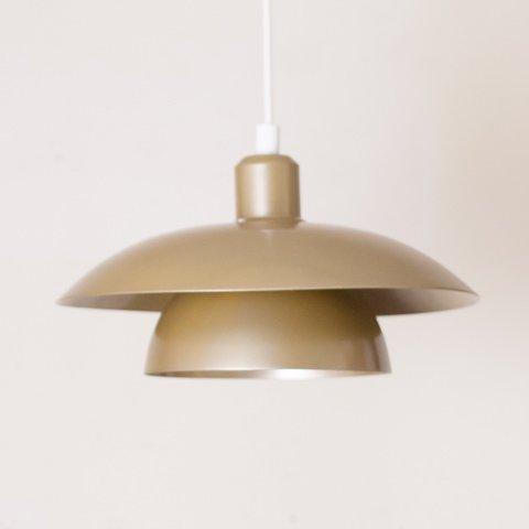 DENMARK HAMALUX OLIVE GREEN 2SHADE PENDANT LAMP