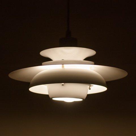 DENMARK JEKA MILKY WHITE 4 SHADE PENDANT LAMP