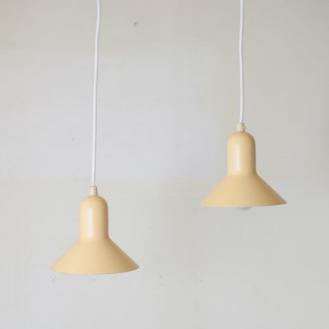 DENMARK CREAM COLOR SHADE LAMP SET