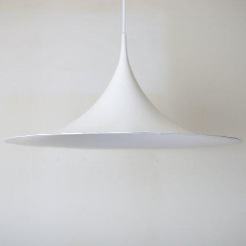 DENMARK FOG&MORUP MILKY WHITE SEMI PENDANT LAMP DIAMETER 60CM