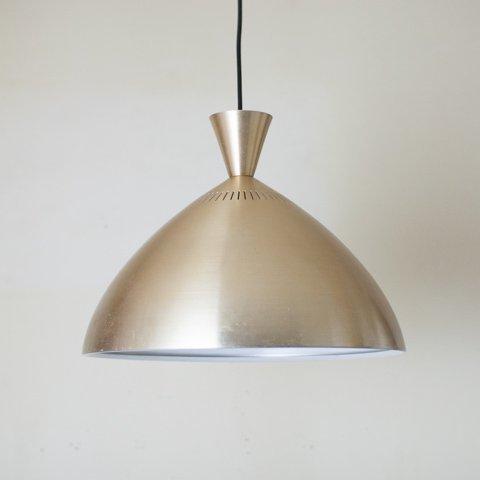 DENMARK S.GOLD ROUND SHADE PENDANT LAMP