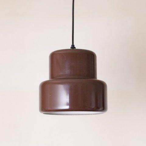 DENMARK FOG&MORUP DK.BROWN POKER LAMP
