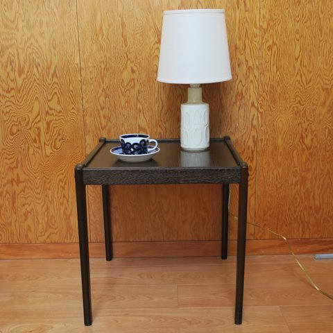 FRDR.FURBO DENMARK Bent Silberg TEAK SIDE TABLE