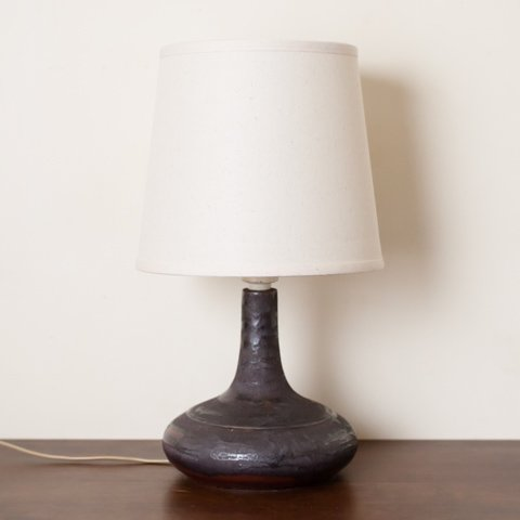DENMARK DESIREE BK.BROWN/BLACK/LT.BROWN CERAMIC BASE TABLE LAMP