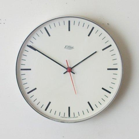DENMARK eltime LT.GREY COLOR CLOCK