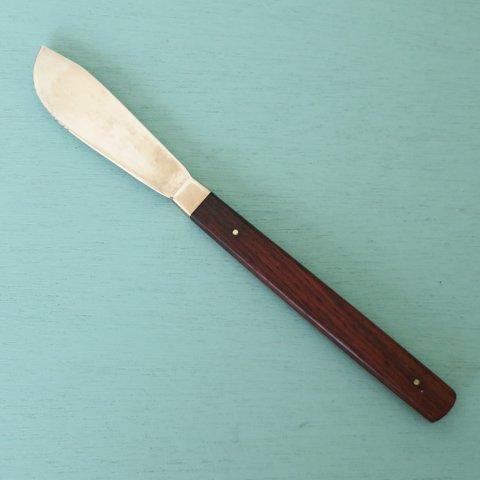 COHR DENMARK ROSEWOOD/BRASS KNIFE