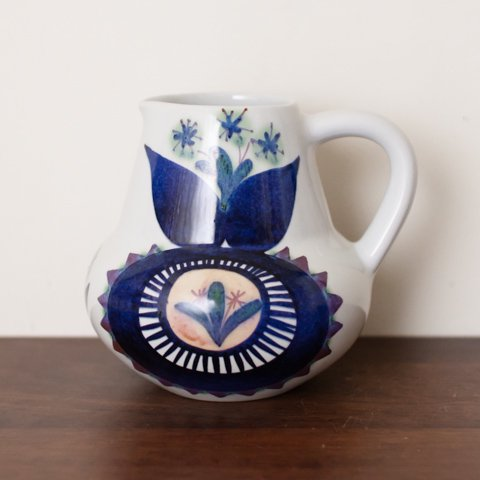 ALUMINIA(ROYAL COPENHAGEN) Marianne Johnson TENERA FLOWER PITCHER