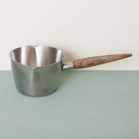 DENMARK STAINLESS/ROSEWOOD HANDLE SAUCE PAN