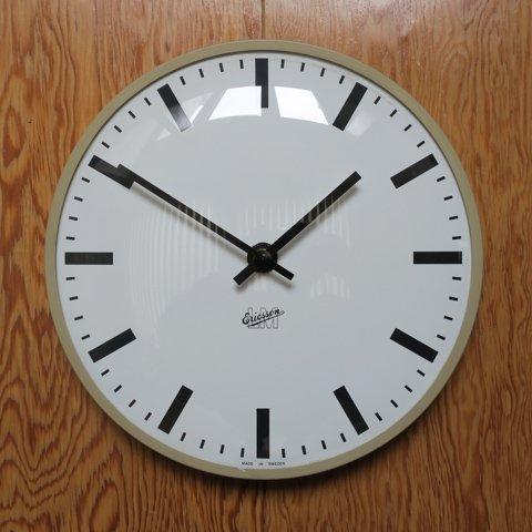 SWEDEN LM Ericsson BEIGE COLOR CLOCK