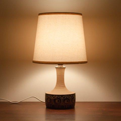 DENMARK Jette Helleroe CERAMIC BASE TABLE LAMP