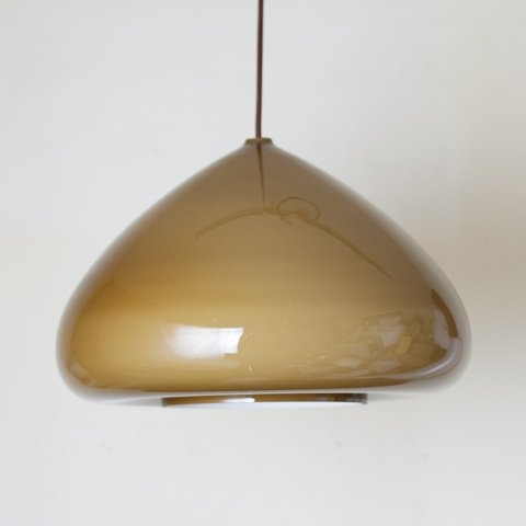 DENMARK OLIVE GREEN GLASS SHADE PENDANT LAMP