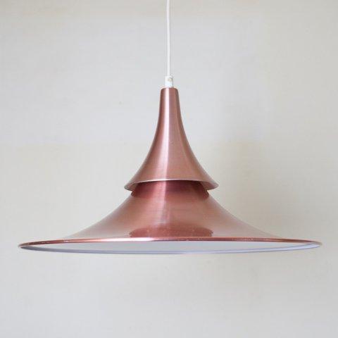 DENMARK COPPER/WHITE 2SHADES PENDANT LAMP