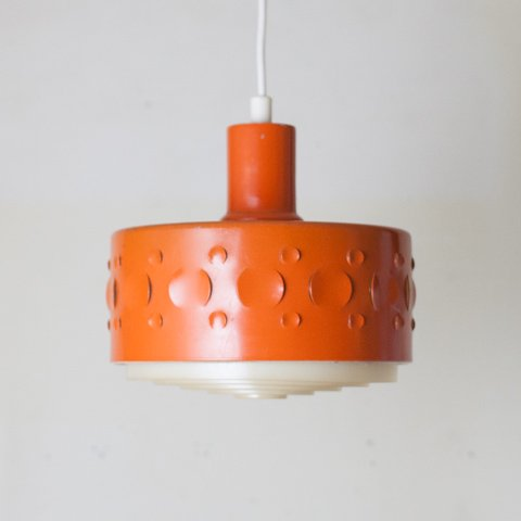 SWEDEN ORANGE COLOR PENDANT LAMP