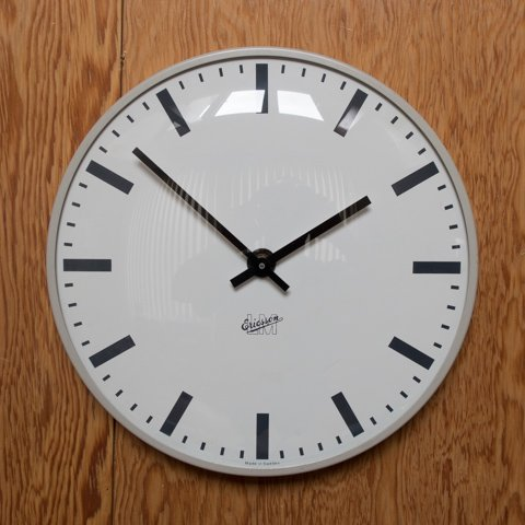 SWEDEN LM Ericsson BEIGE COLOR CLOCK