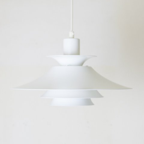DENMARK MILKY WHITE 4 SHADE PENDANT LAMP
