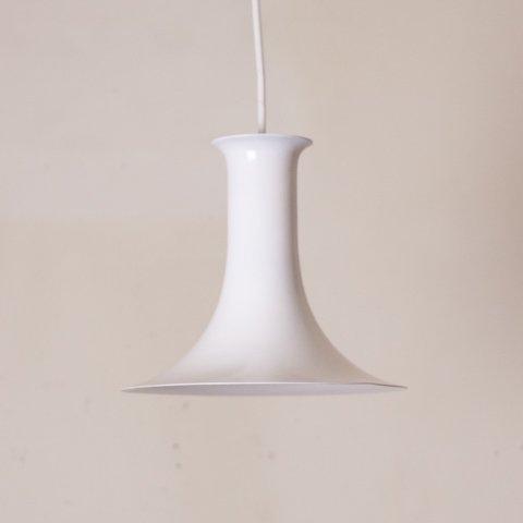 DENMARK MILKY WHITE TRUMPET STYLE PENDANT LAMP