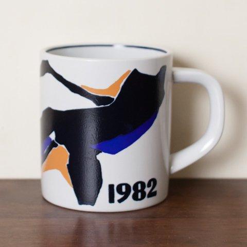 ROYAL COPENHAGE 1982 YEAR JUMBO MUG