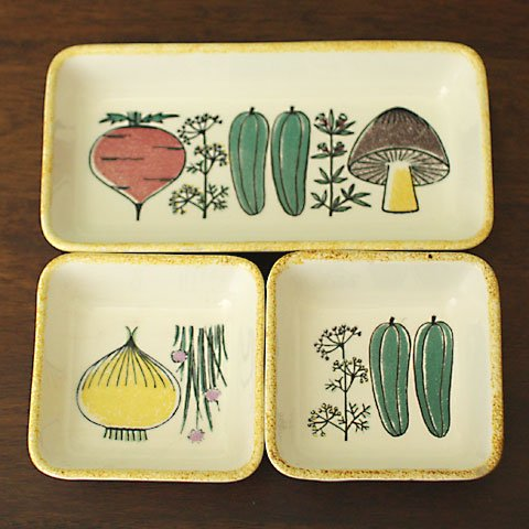 W.GERMANY VEGETABLE TRAY SET