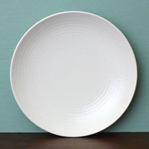 SWEDEN RORSTRAND BLA ELD WHITE PLATE