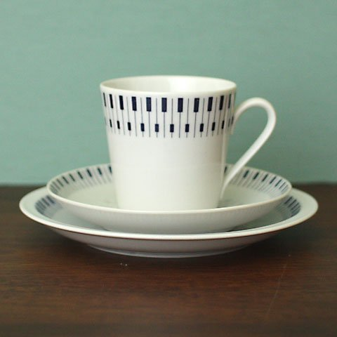 DENMARK LYNGBY PIANO COFFEE TRIO