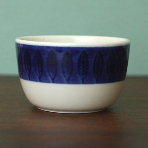 SWEDEN RORSTRAND KOKA BLUE SUGAR POT