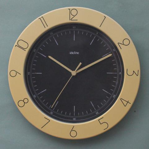 GERMANY ideline PLASTIC CLOCK