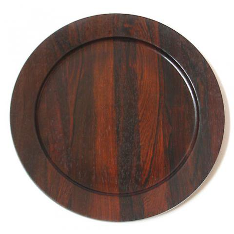 DENMARK SOLID ROSE WOOD TRAY