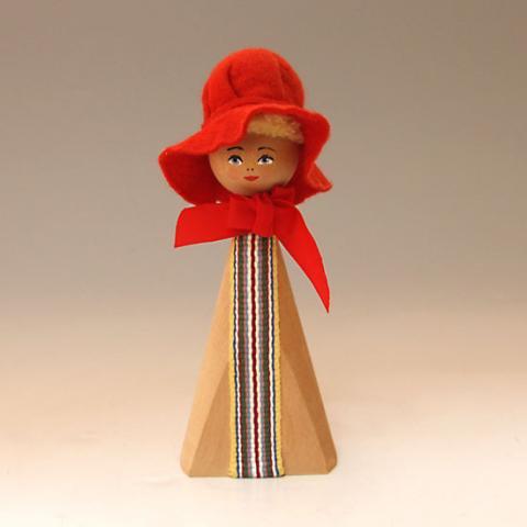 SWEDEN RED HAT LADY