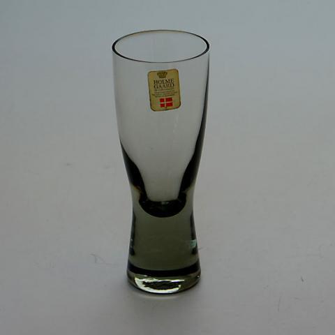 DENMARK HOLMEGAARD CANADA SMOKE GLASS