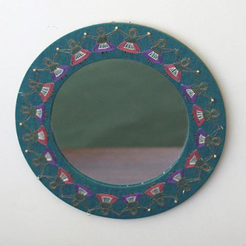 SWEDEN EMBROIDERY MIRROR