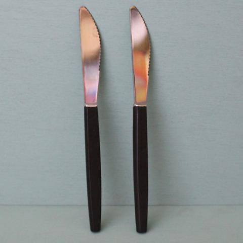 DENMARK STAINLESS/TEAK DINNER KNIFE