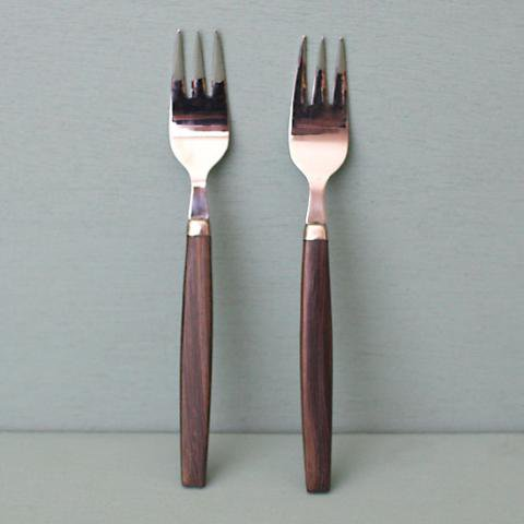 SWEDEN STAINLESS/TEAK FRUITS FORK