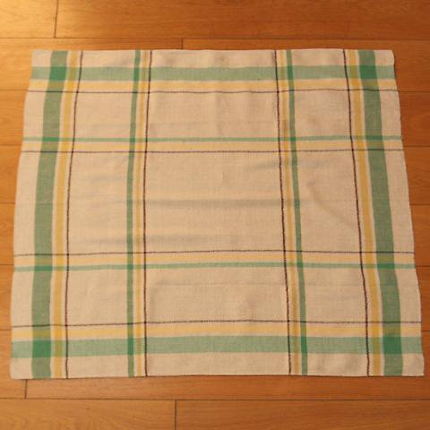 SWEDEN DOBBY GREEN TABLE CLOTH
