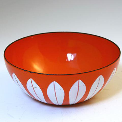NORWAY CATHRINEHOLM ORANGE LOTUS BOWL