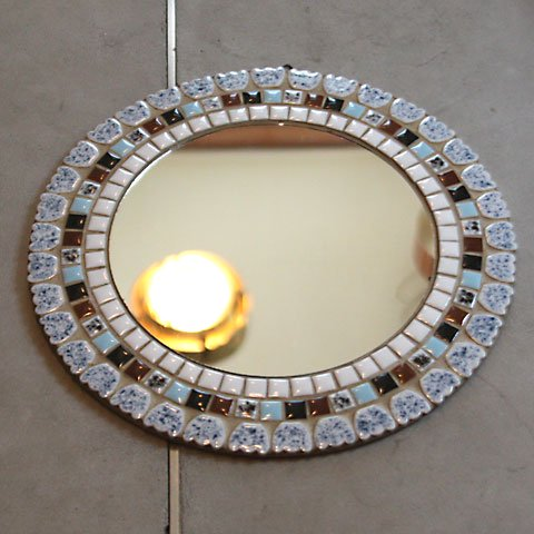 DENMARK HAND MADE TILE MIRROR